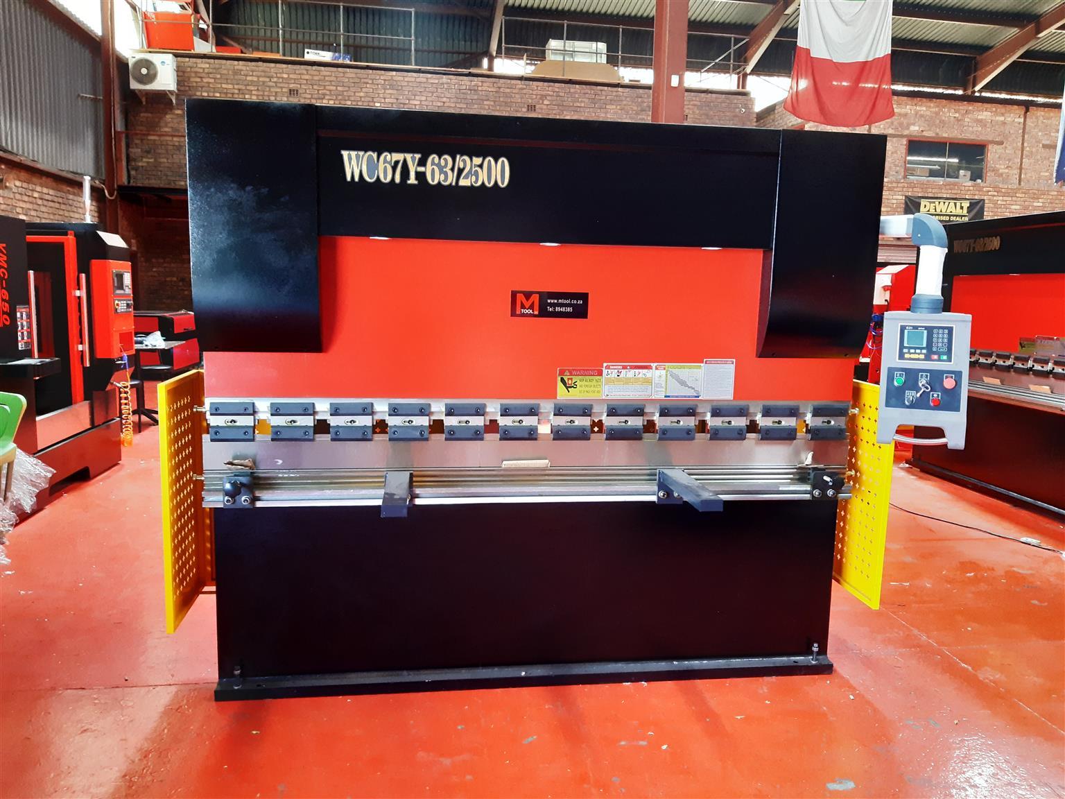 New Hydraulic press brake WC67Y-63x2500