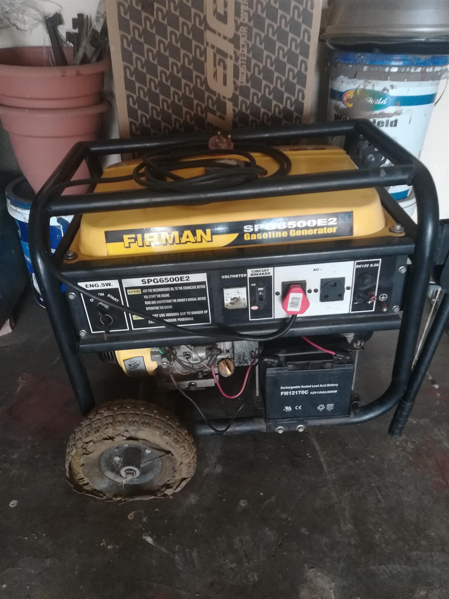 Firman 6.5KVA generator