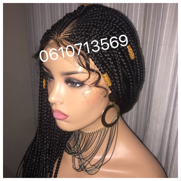 CORNROW BRAIDED WIGS AND MORE 0610713569