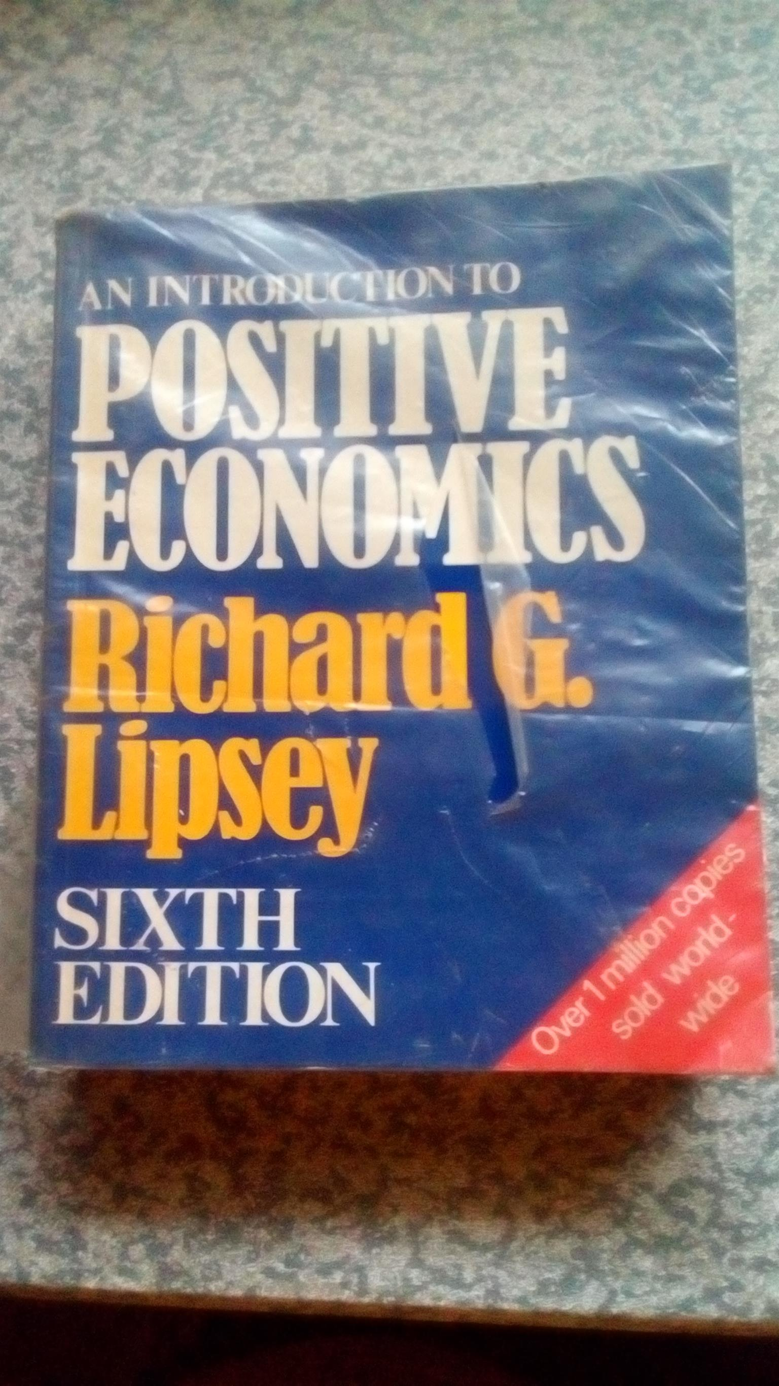 Introduction to Positive Economics (6th Edition) by Richard G. Lipsey