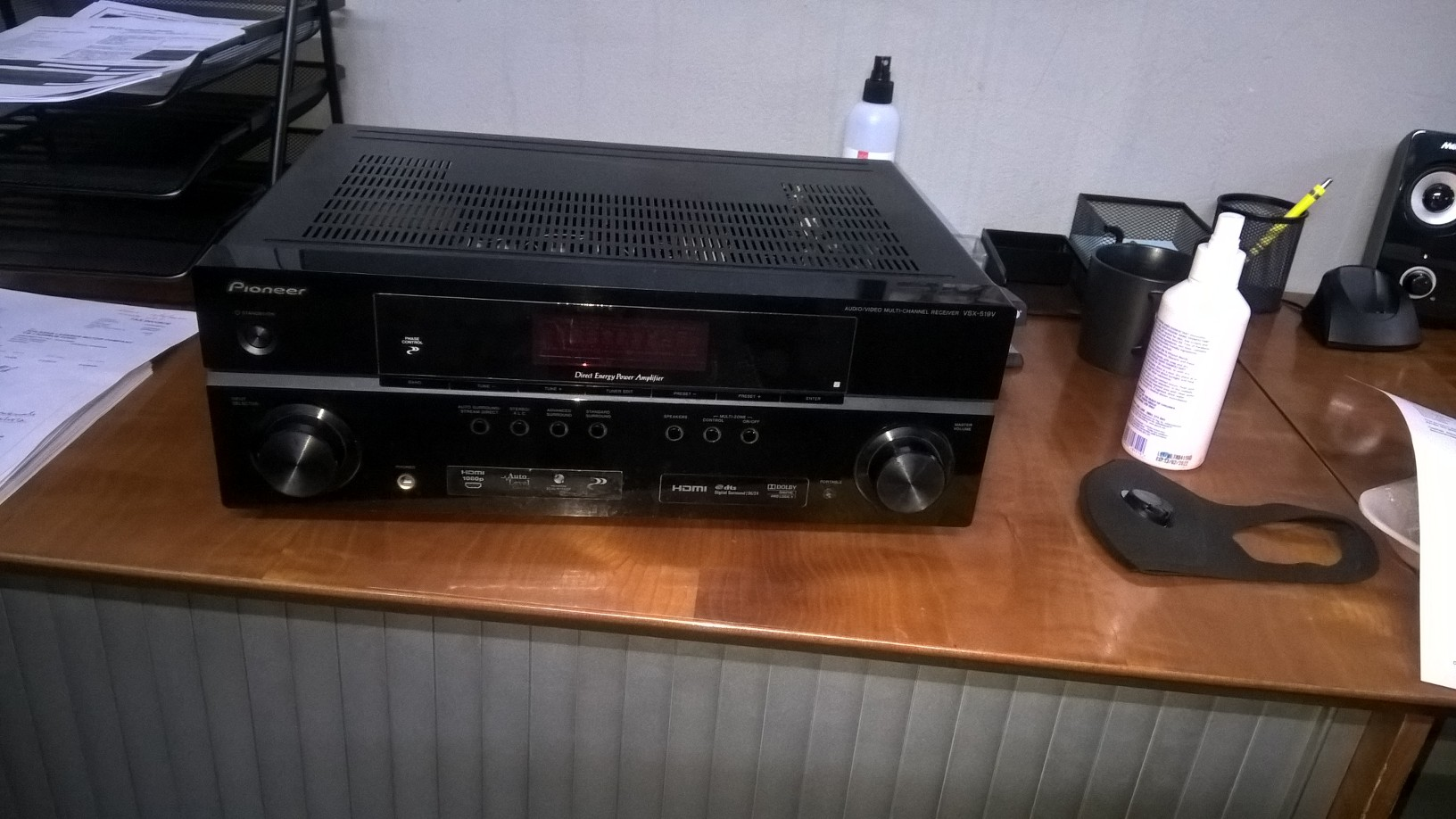 Pioneer Receiver VSX-519V-K for sale , perfect working condition .