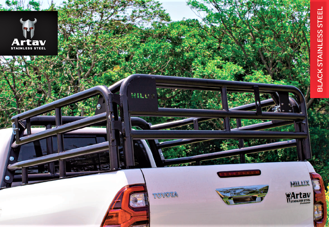 CATTLE RAILS FOR TOYOTA HILUX