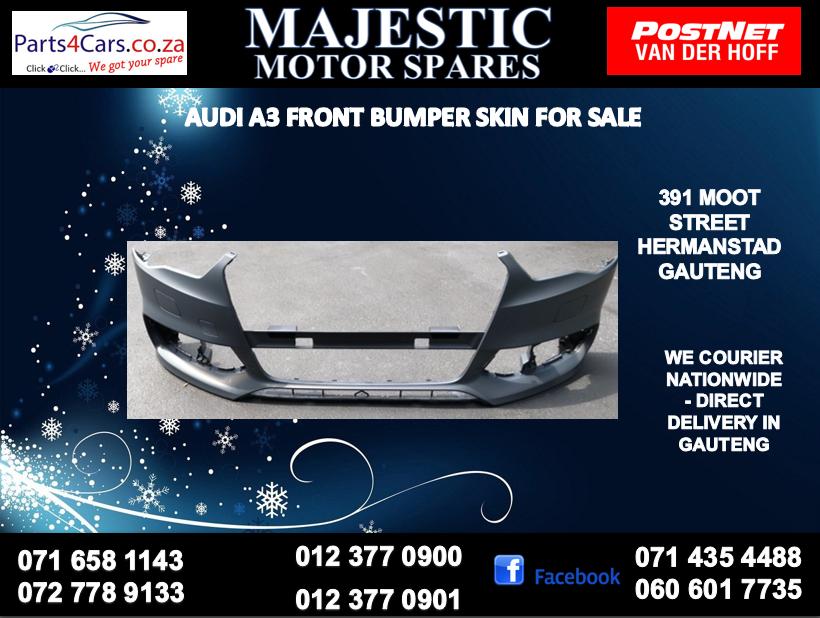 Audi A3 bumper skin for sale