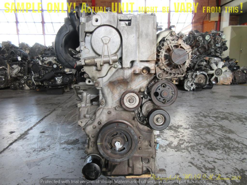 RENAULT 2TRA703 2.5L DOHC 16V Engine