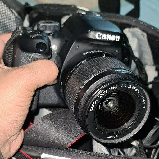 canon eos 600d incl 2 lense, wireless remote trigger