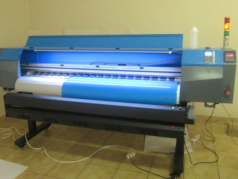 F-1866/AQUA FastCOLOUR 1860mm EPSON® DX7 Printhead Large-Format Water Based Dye or Pigment