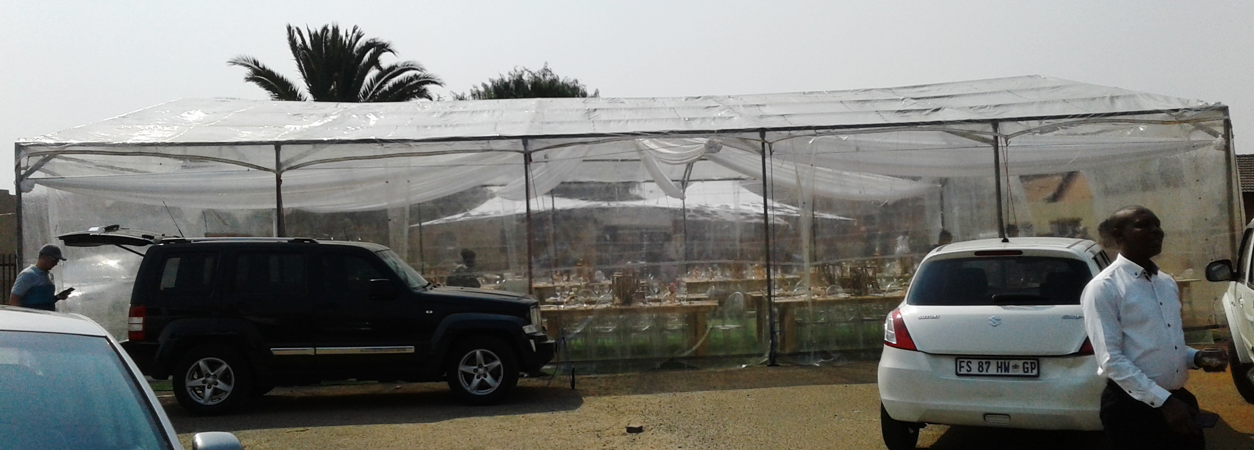 Clear Wedding Marquees from R15000 for Hire