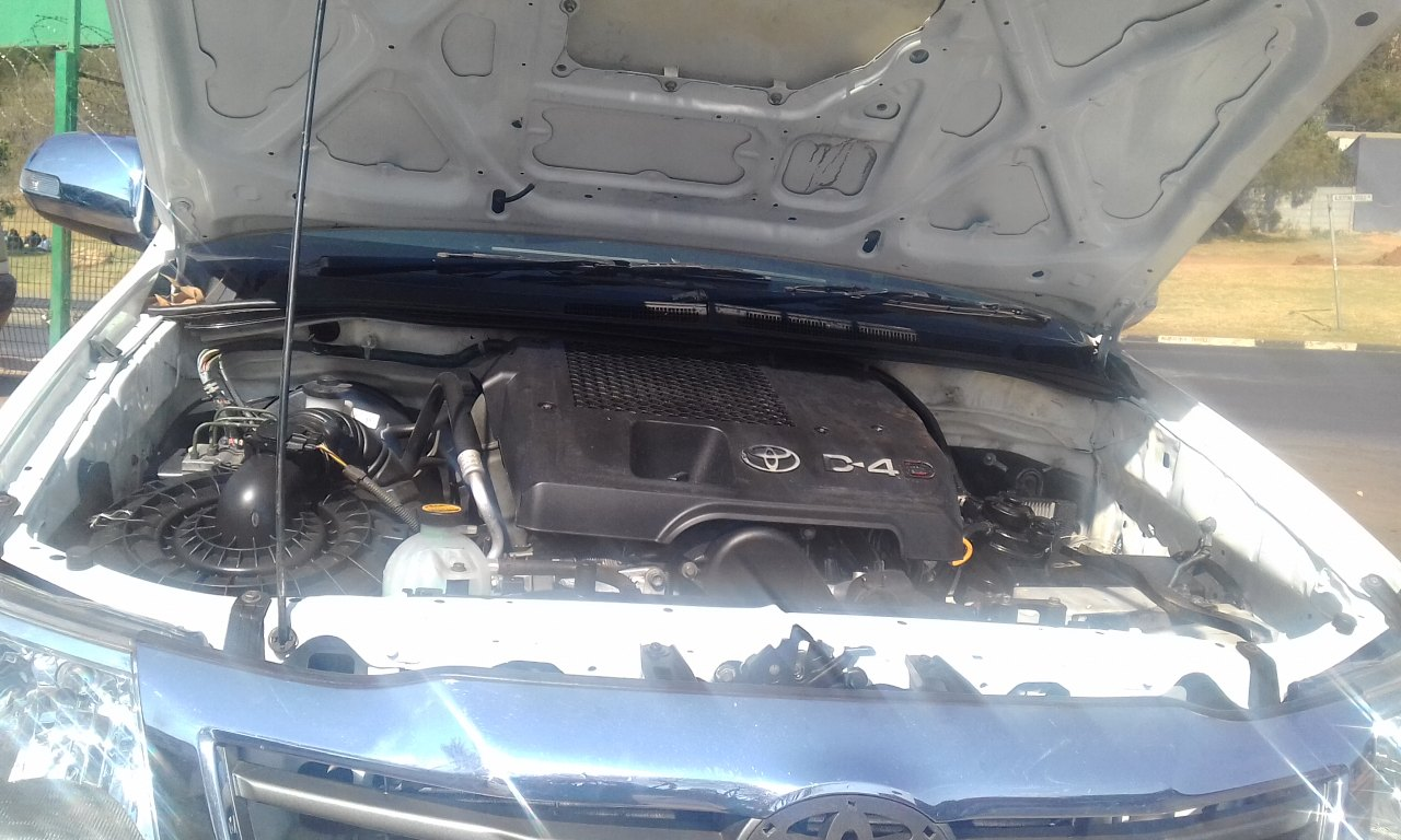 2008 Toyota Hilux double cab HILUX 3.0 D 4D RAIDER 4X4 A/T P/U D/C