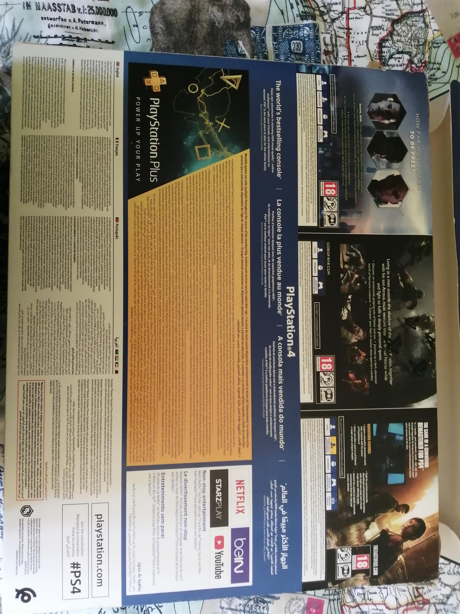 PS4 500GB Slim Console