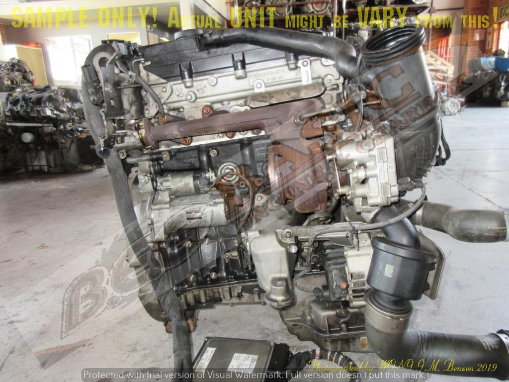 MERCEDES BENZ VITO 110 -651940 2.2 DIESEL EFI Engine