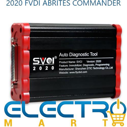 2018 FVDI Abrites Commander Auto Key Programmer