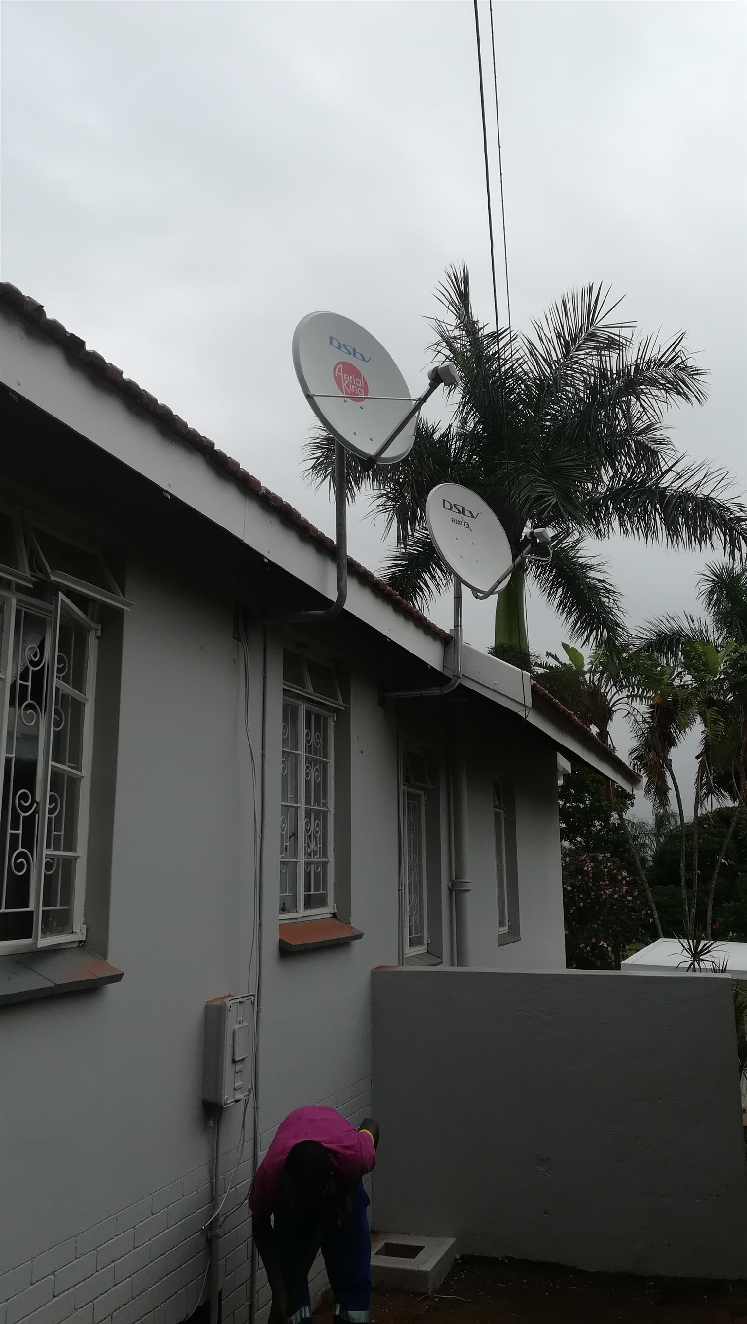 Dstv, star sat, ovhd installation and repairs