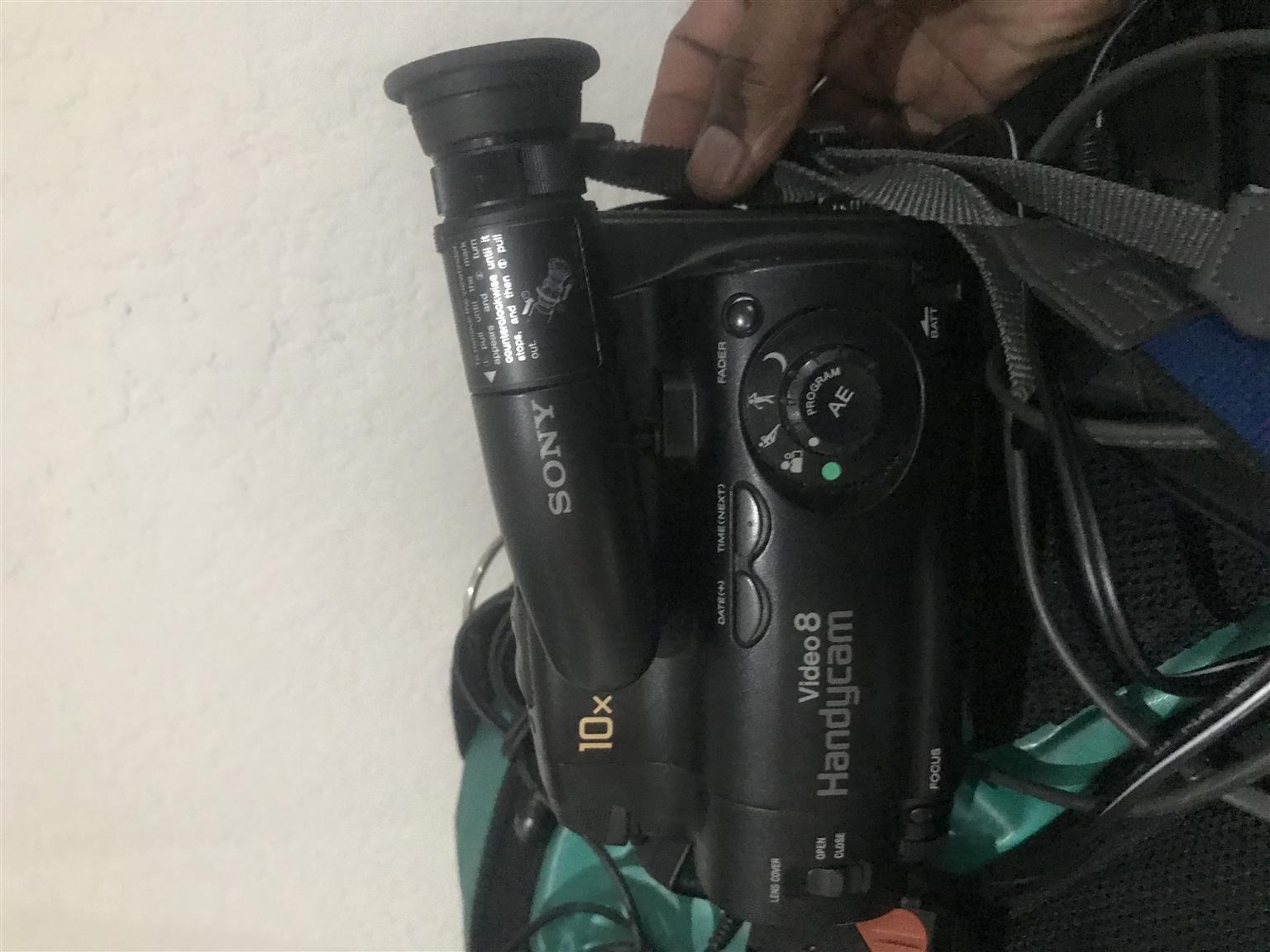 Sony Handycam Video 8 Camcorder Camera
