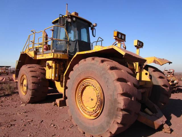 Caterpillar 834h Wheel Dozer On Auction Junk Mail