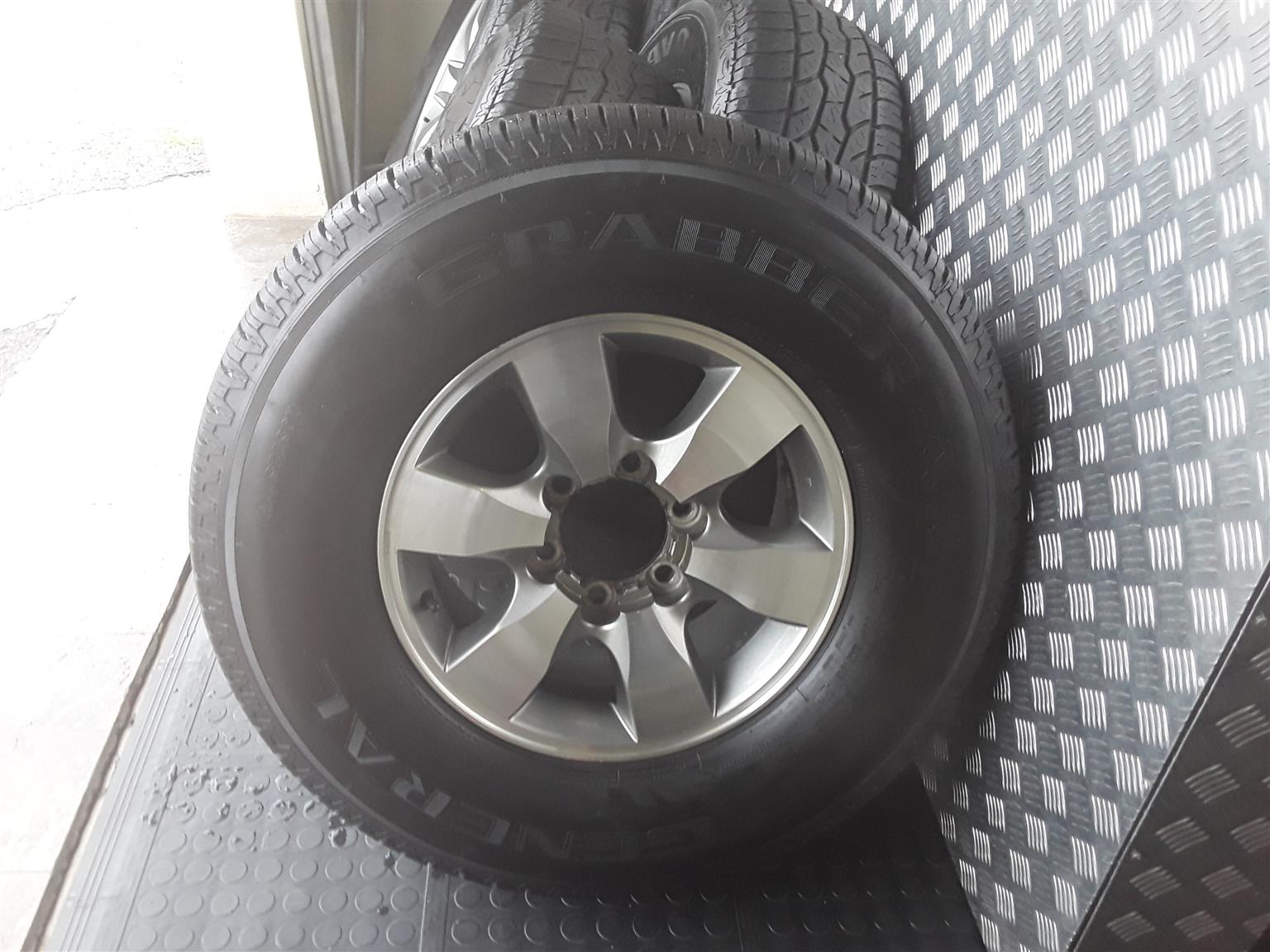 Full Set Mags and Tyres for Sale