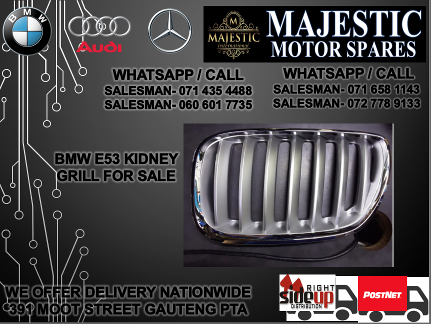 Bmw e53 kidney grill for sale