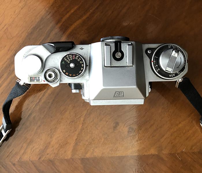 NIKON EL 2,  35 mm SLR CAMERA BODY