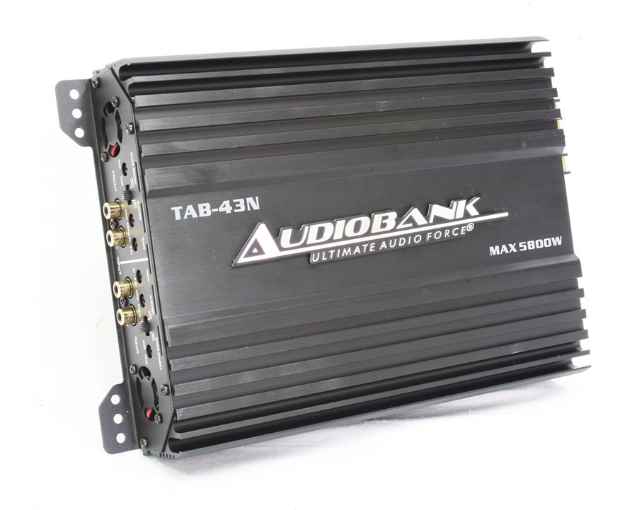 Audiobank 5800w 4channel Amplifier - 120x4 rms