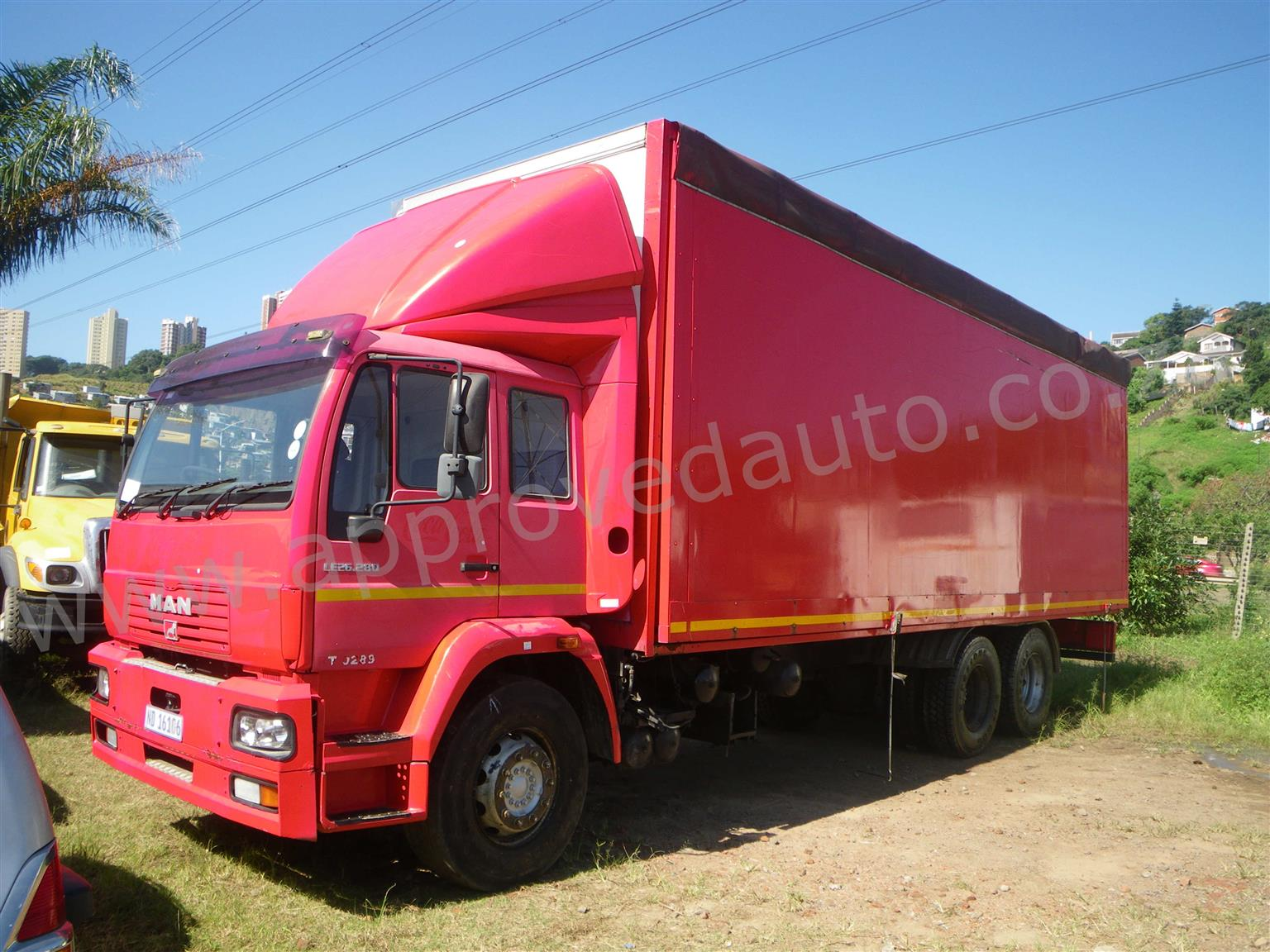 2006 MAN M2000 USED Stage truck for sale in Durban KZN – AA3029
