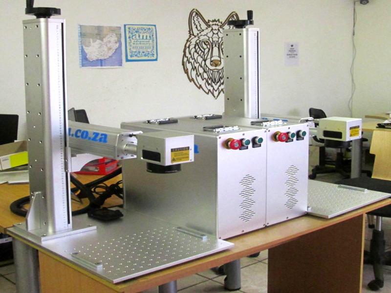 LLM-110F20 LabelMark 20W 110x110mm Optical-Fibre Laser Marking & Labelling Machine Laser