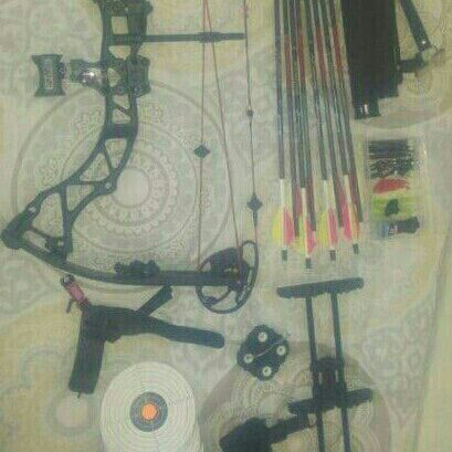 Archery Bow and accessories