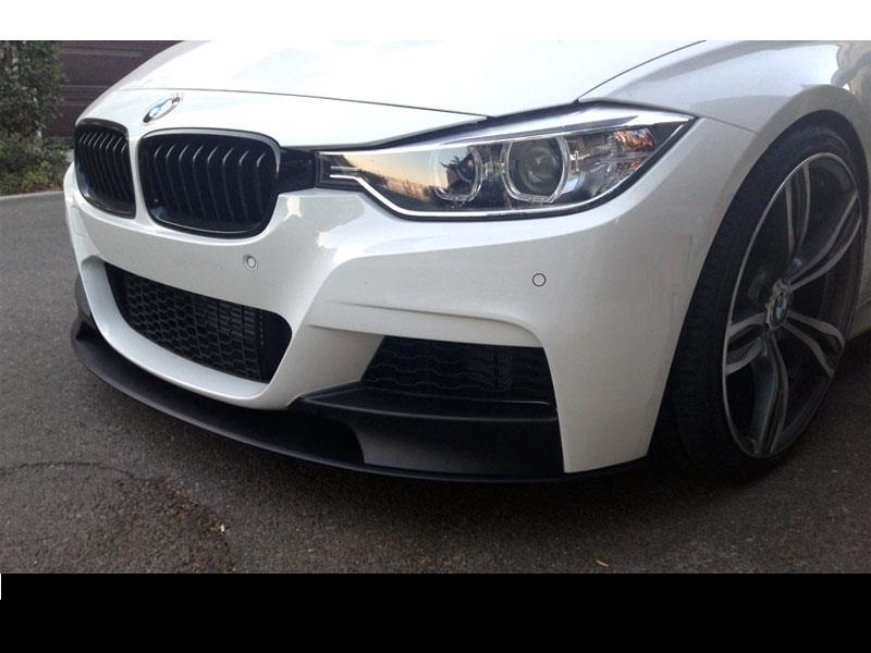 Bmw F30 Brand New Plastic M Performance Style Front Lip Spoiler For