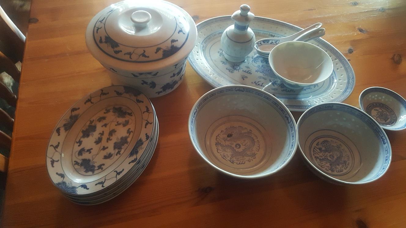 Chinese crockery