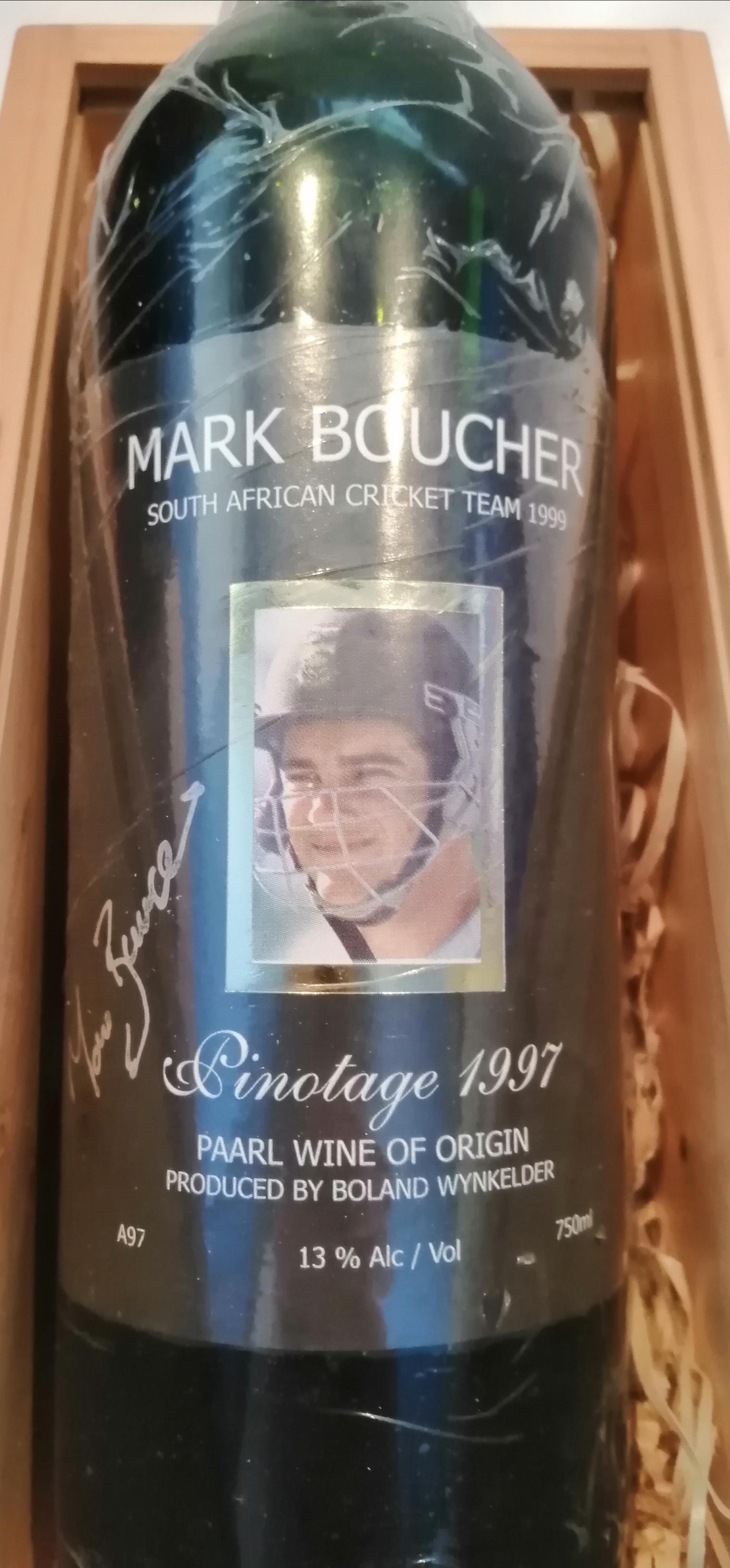 Cricket Protea Memorabilia,  Signed by the Cricket Legend Mark Boucher
