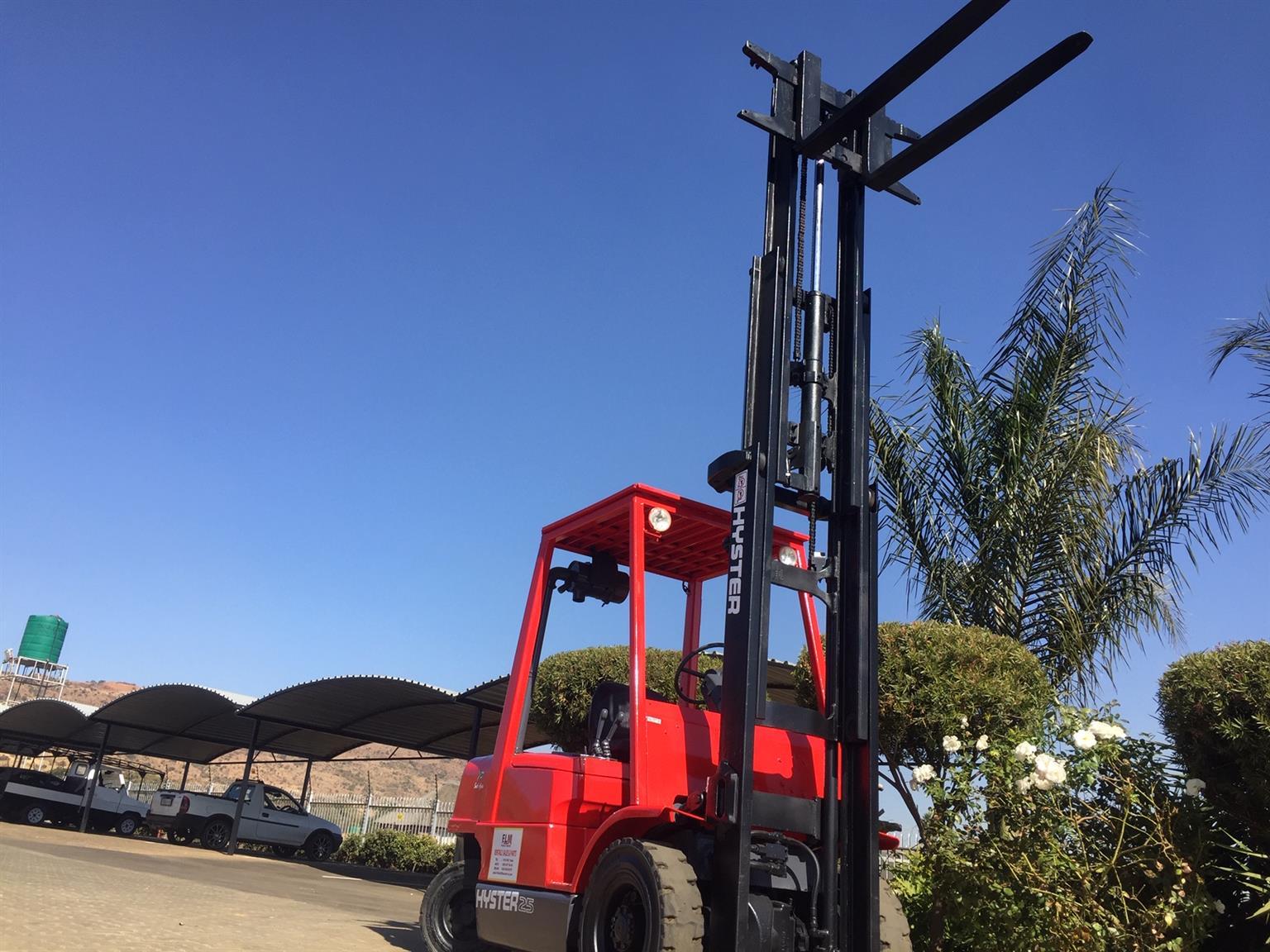 Hyster 2.5 ton Diesel Forklift For Sale