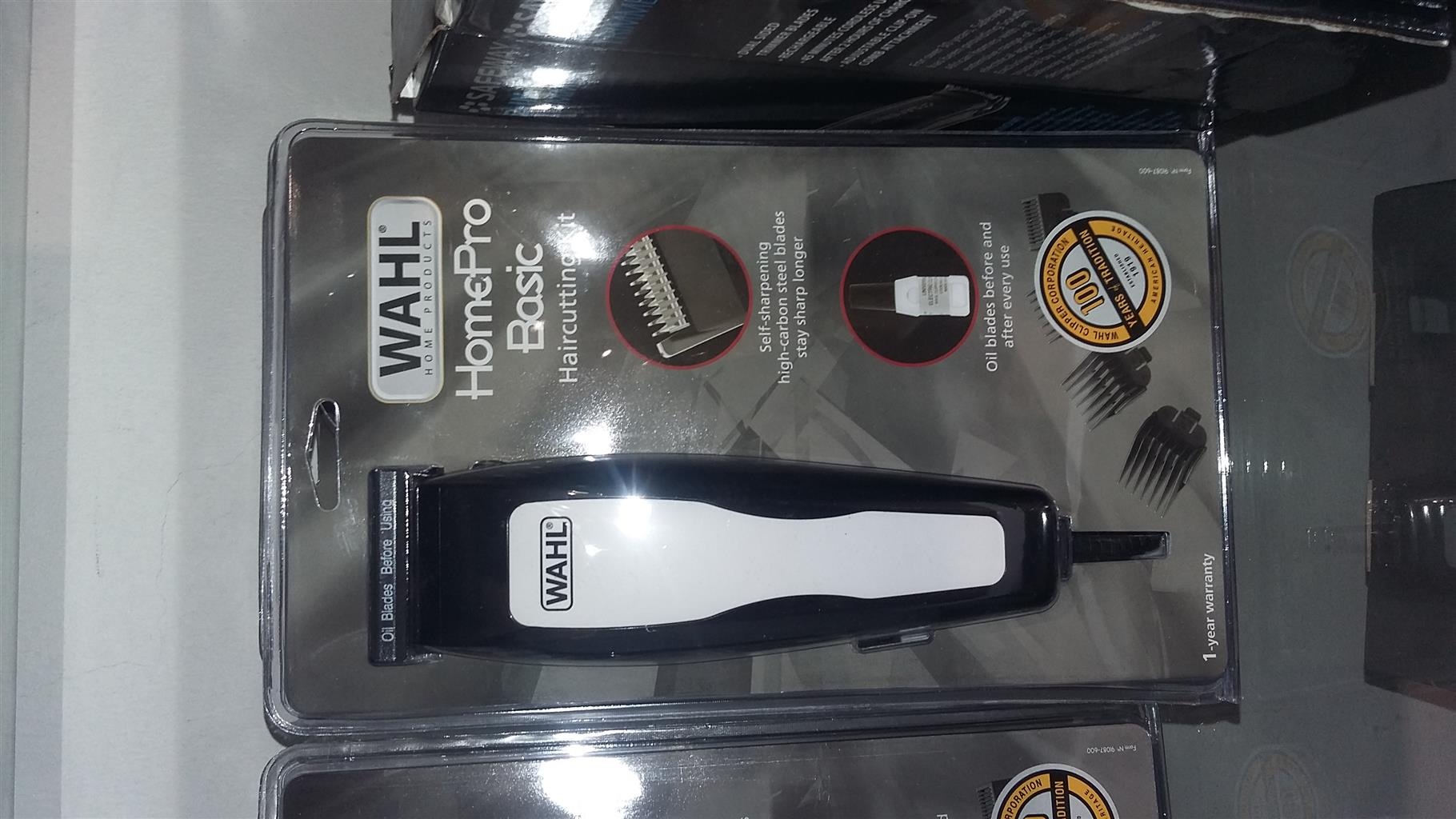 Wahl haircutting machines forsale