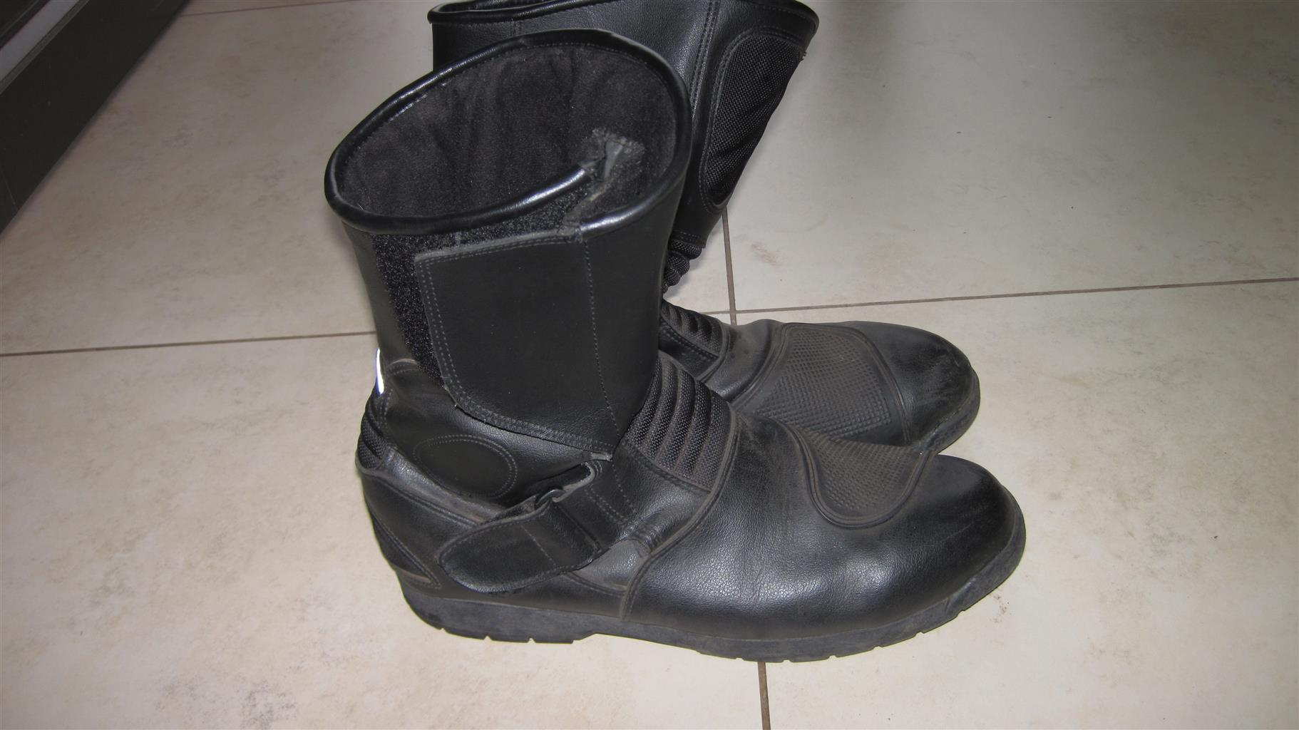 Bike jackets, boots, gloves and covers