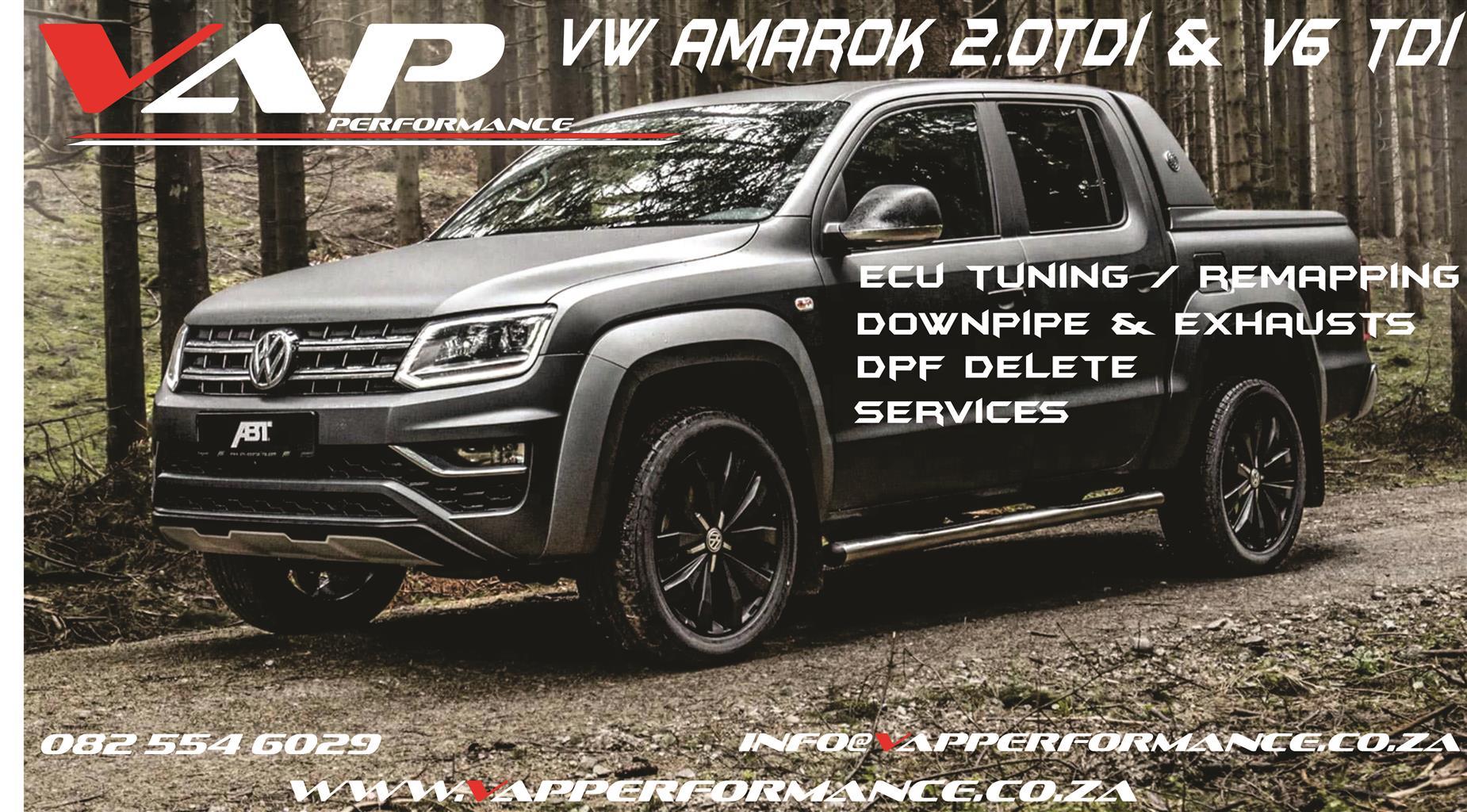 VW Amarok 3.0 TDI V6 Tuning / ECU Remapping / Performance