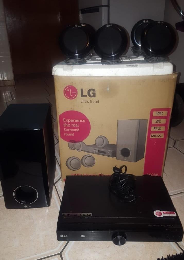 LG 5.1 surround system