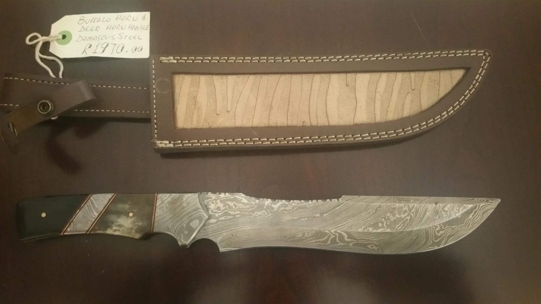 Damascus knifes