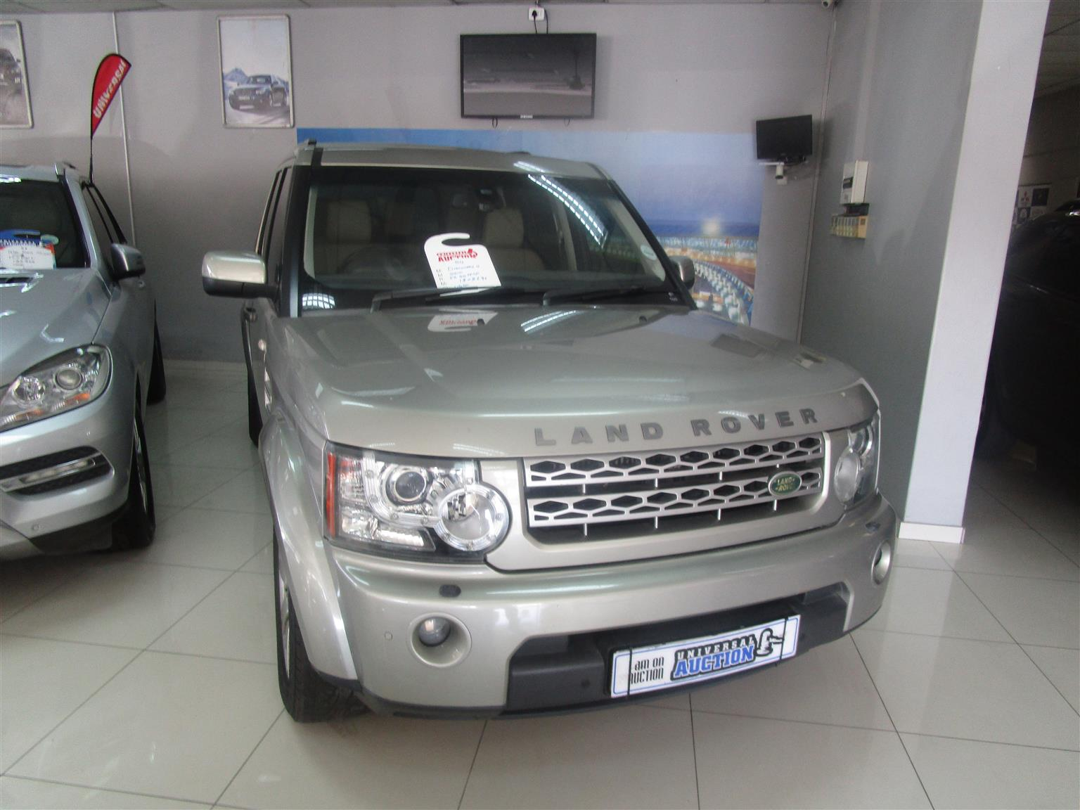 2010 Land Rover Discovery 4 TDV6 XS
