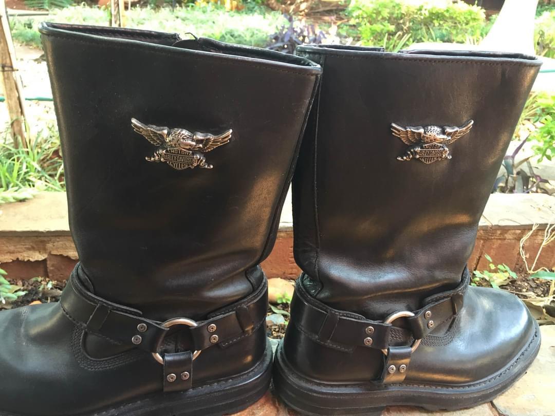 Harley Davidson brand boots