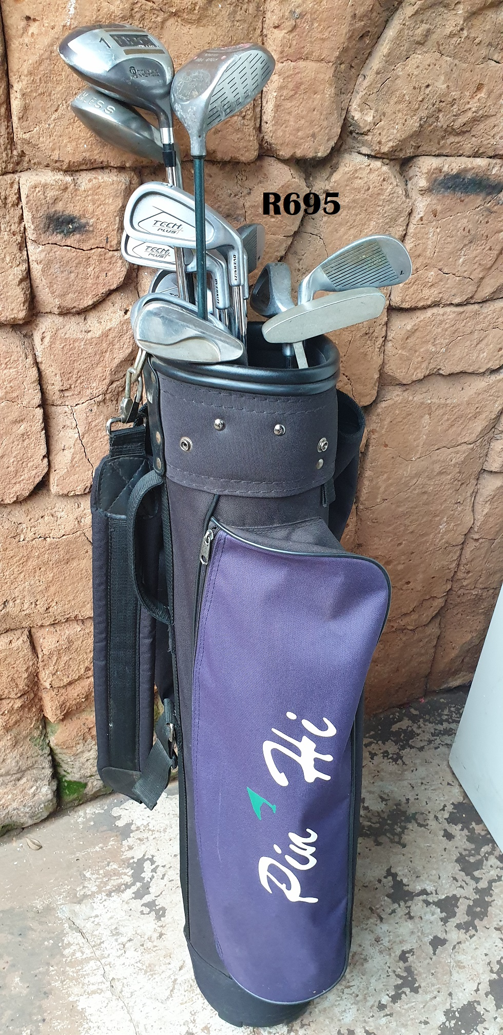 Pin Hi Golfbag with 14 Golfclubs
