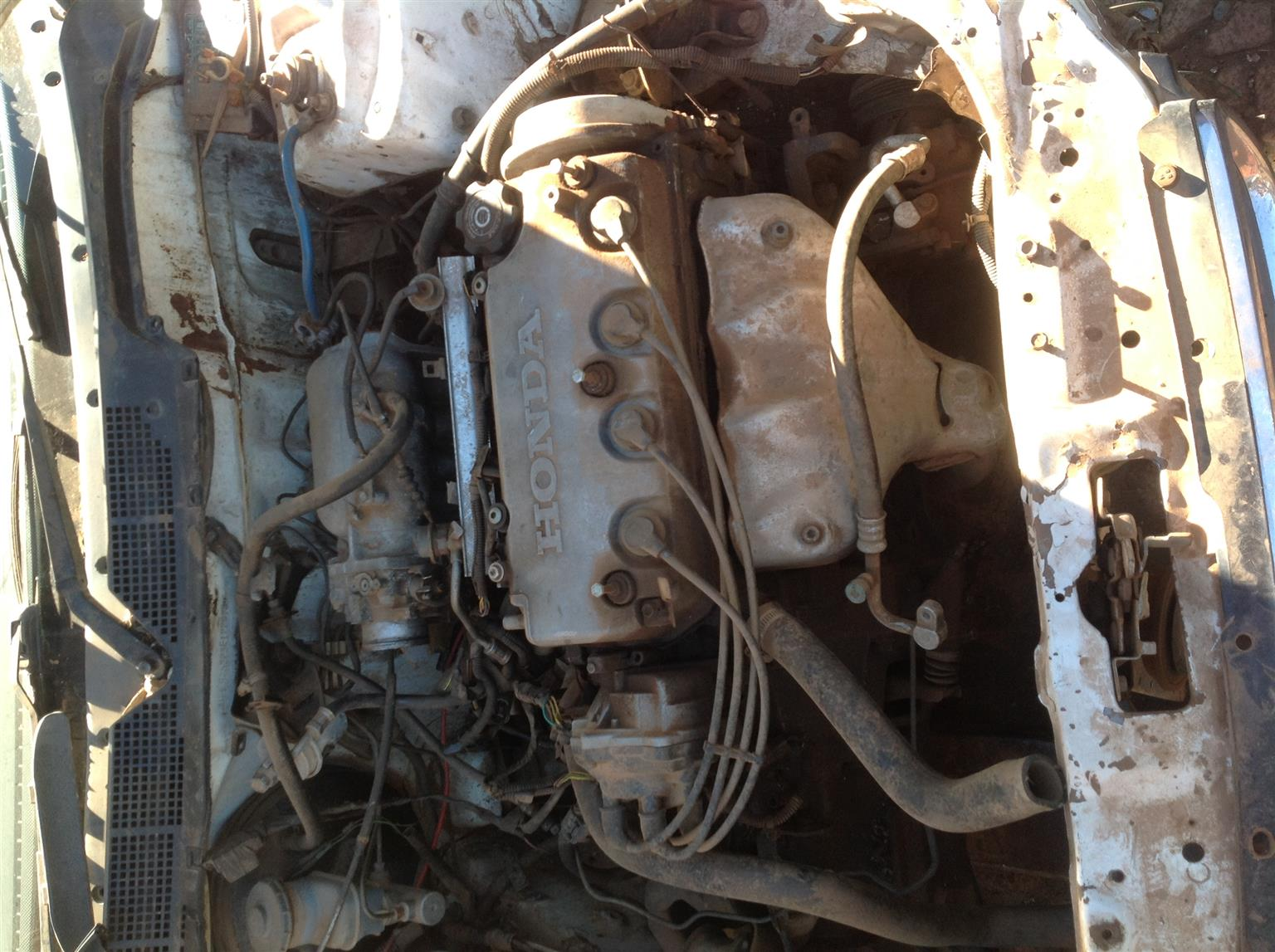 Stripping Honda Civic (Hatch) SO3 1996 for Spares