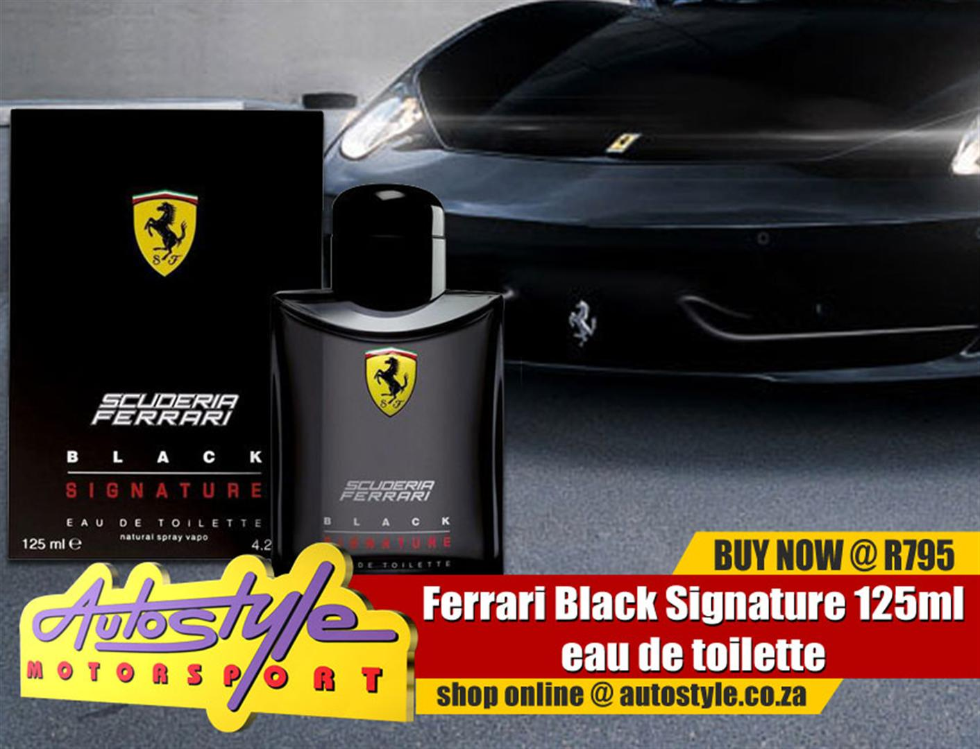 Ferrari Black Signature 125ml eau de toilette