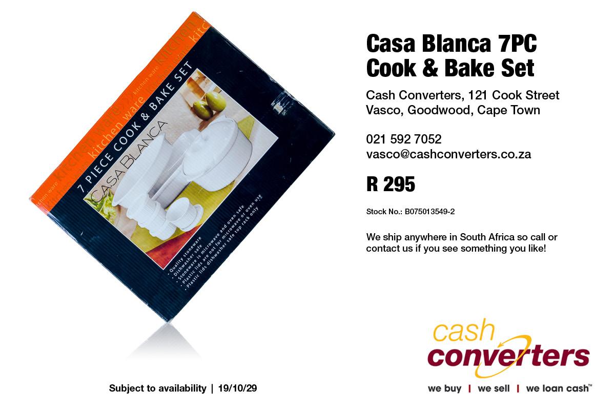 Casa Blanca 7PC Cook & Bake Set