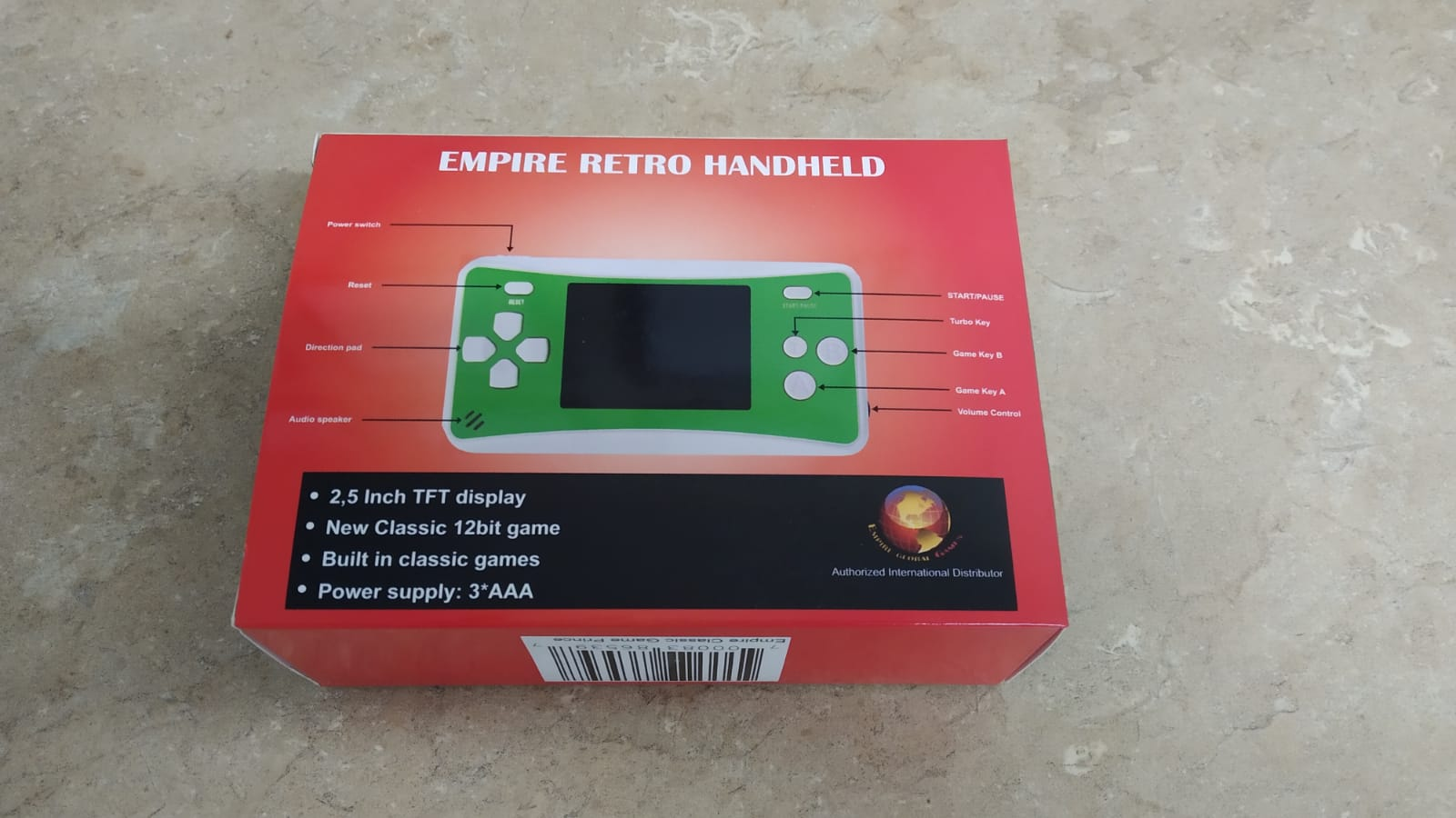 Empire retro handheld