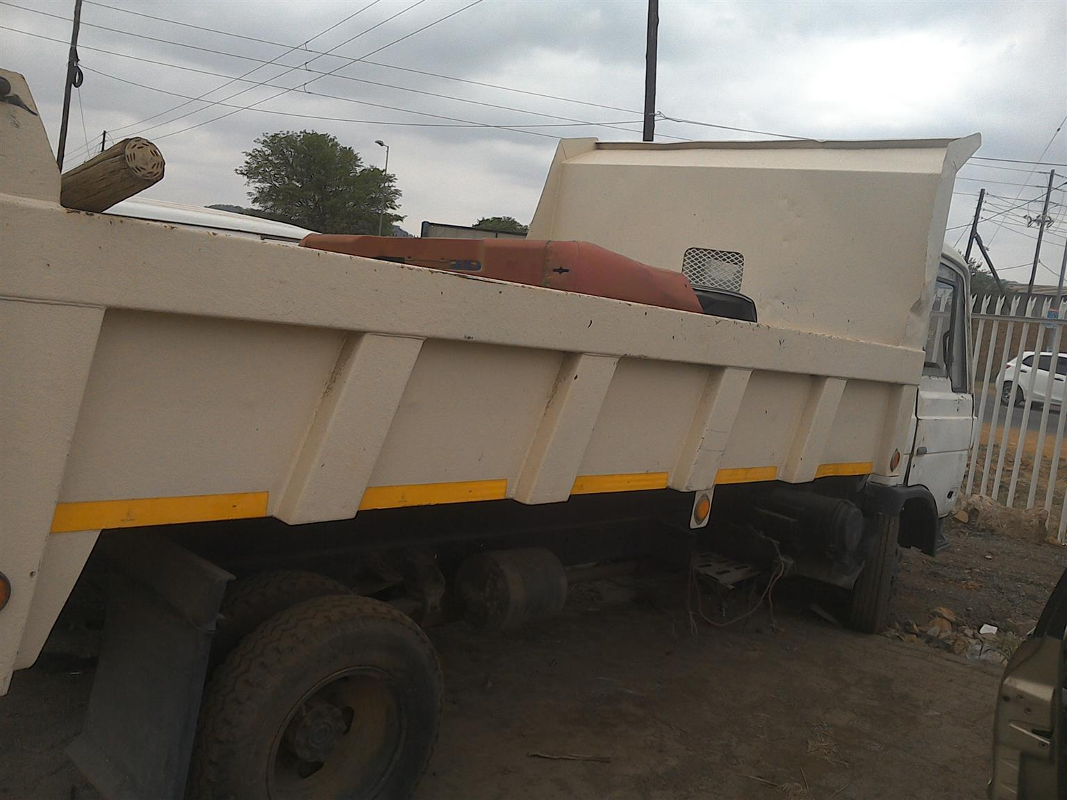stripping Cm 10 for spares with cummins engine .gearbox .diff and body parts available