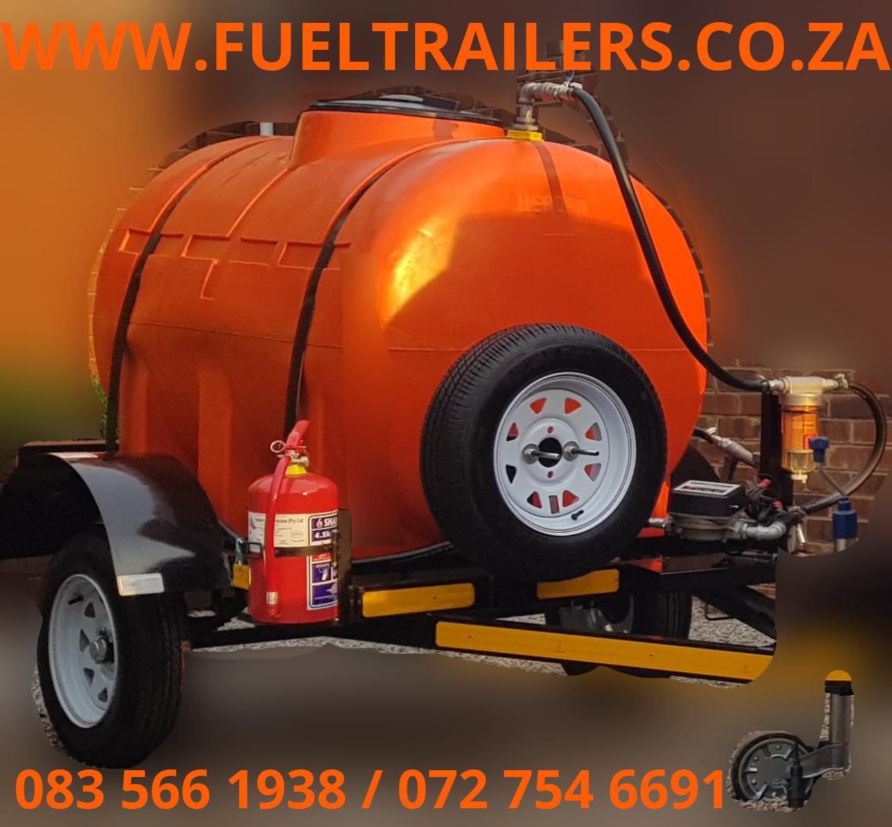 1000 liter MILD STEEL , STAINLESS STEEL OR PLASTIC BOWSER