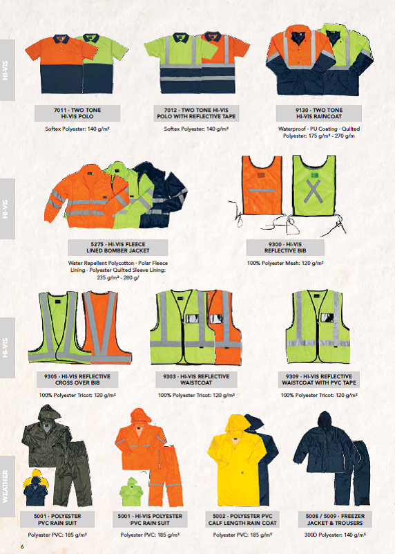 Safety Wear, PPE, and Corporate Wear
