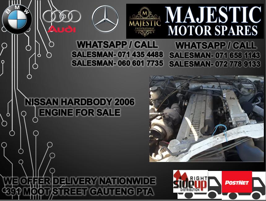 Nissan hard body engine for sale