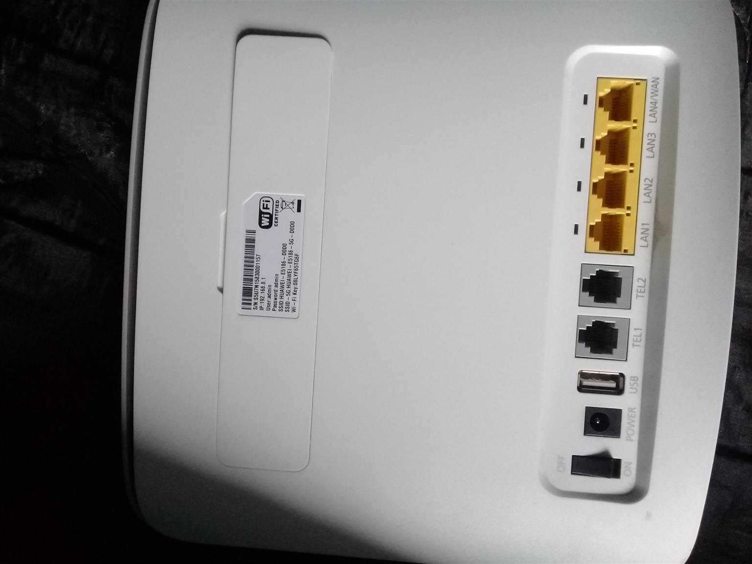 LTE wi fi huawei router 4 G