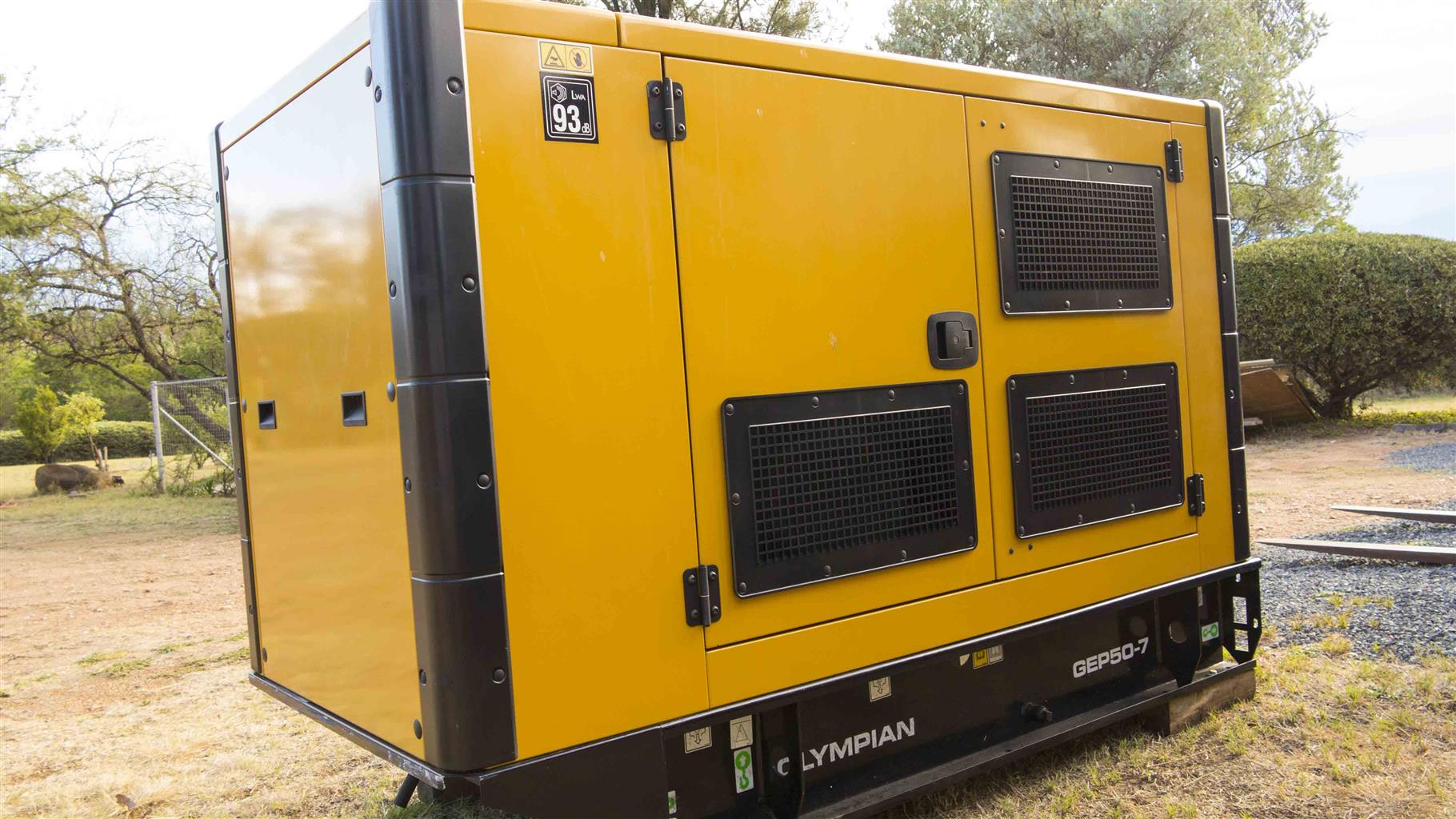 Brand New CAT 50 kVA Diesel Genset, enclosed - Top Quality Generator - two available