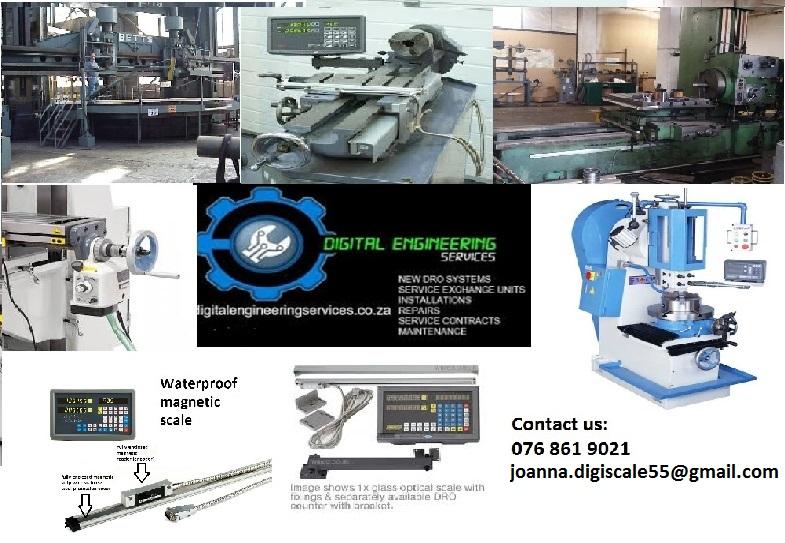 Milling Machine, Lathe, Boring mill Digital Readout