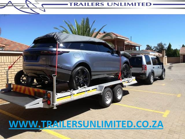6000 X 2100 X 200MM DOUBLE AXLE CAR TRAILERS.