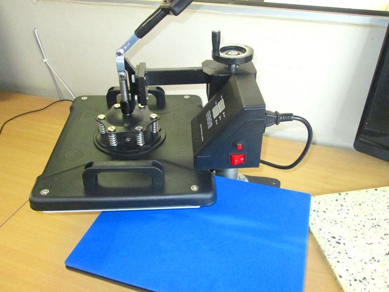 H-PRESS/MT5 Heatware MT5 1400W Heat Press Multitalent, Flat Press, Mugs Press, Two Plate